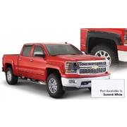 Flare Bushwacker Pocket Style Silverado Summit White